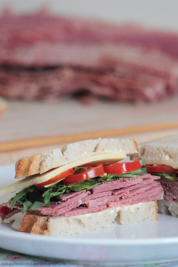 Homemade corned beef | Blog: Cook and Bake | Pinterest