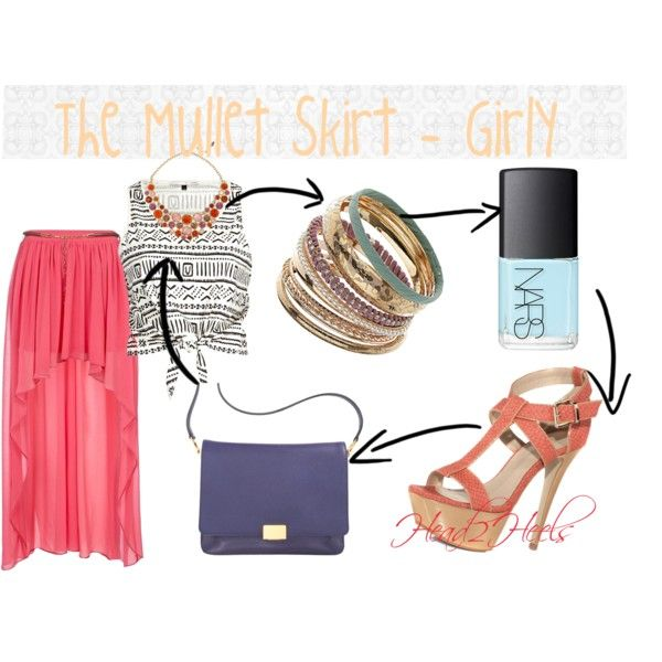 """The Mullet Skirt - Girly"" by head2heels on Polyvore"