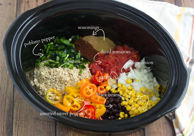... , but chicken, ground beef, or ground turkey can easily be added in