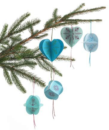 pretty paper ornaments craft ideas tip junkie long hairstyles