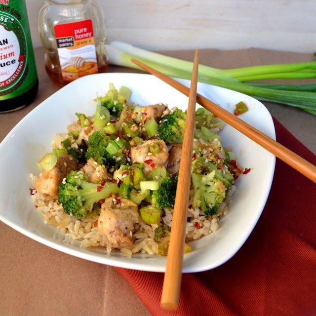 Lighter Sesame Chicken | windykitchen | Recipes | Pinterest