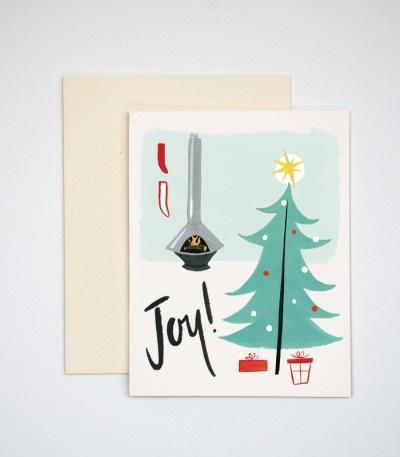 Mid-Century Christmas cards