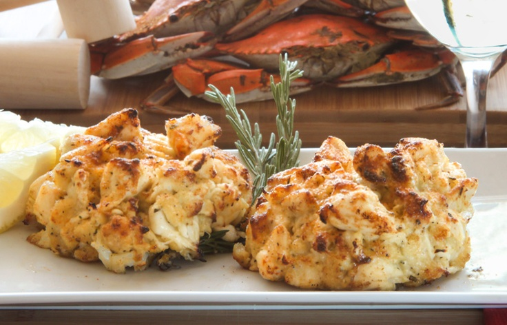 """Jumbo lump crab cakes 