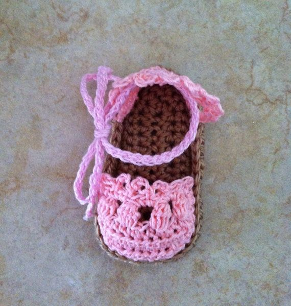 Crochet Baby Elf Slippers Pattern Free : free crochet baby espadrille sandals pattern Quotes