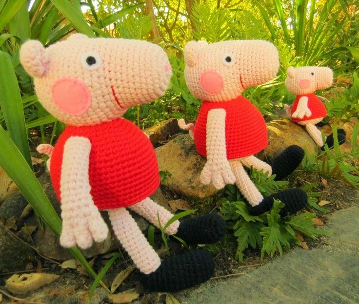 Pig Rabbit Amigurumi Patron : Pin by Monica Monica on Crochet & knit Pinterest