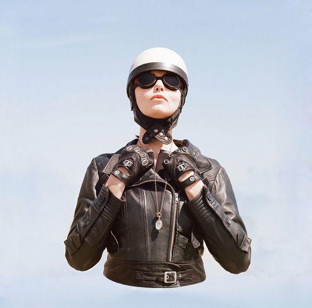The Women's Motorcycle Exhibition by Lanakila MacNaughton