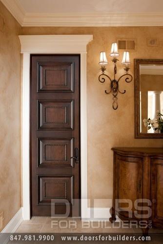 Beautiful Espresso Brown Interior Door For The Home Pinterest
