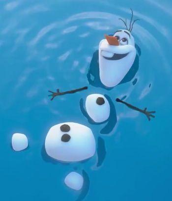 """Olaf Happy Snowman Gif Happy snowman"""" ~olaf. """""""