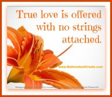 i believe in true love essay