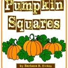 Pumpkin Squares, or Latin Squares, are perfect for your fall themed centers. Appropriate for schools that do NOT celebrate Halloween. FREE!