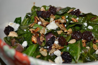 Tassajara Warm Collard Salad | Healthy Recipes | Pinterest
