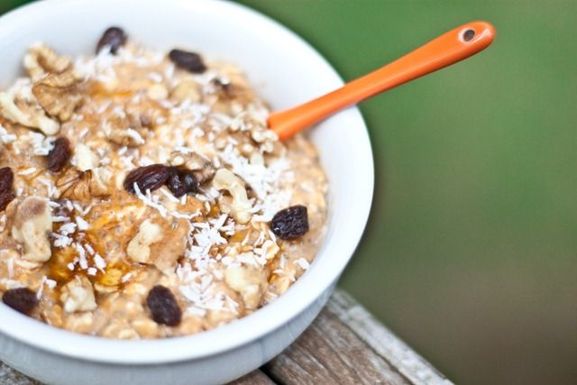 Pumpkin Pie For Breakfast - no cook oatmeal fall version! To make ...