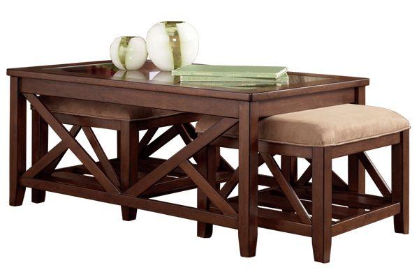 Coffee Table W Bonus Seating Family Room Pinterest
