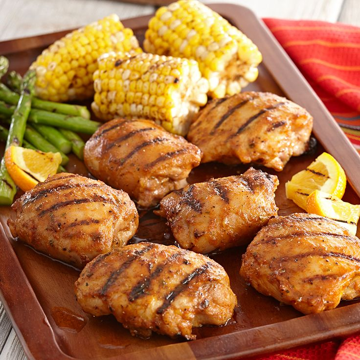 ... sweet with Grill Mates® Chipotle Pepper Marinade and orange juice