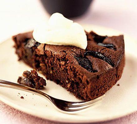 Prune & chocolate torte | Recipe