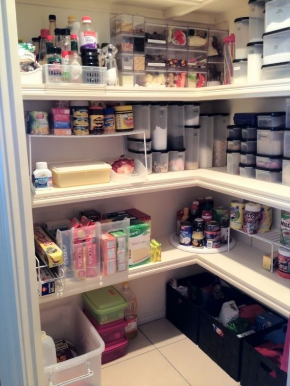 Ideas for pantry organization organizing pinterest for Kitchen organization ideas