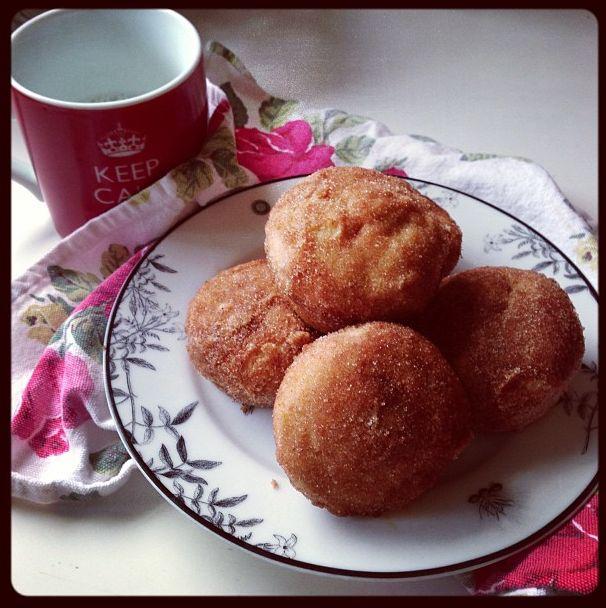Met At Eve - cinnamon brown butter breakfast puffs