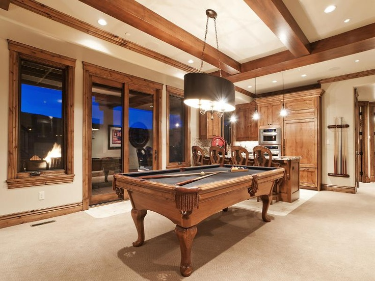 recreation room pool table pooltable room pinterest