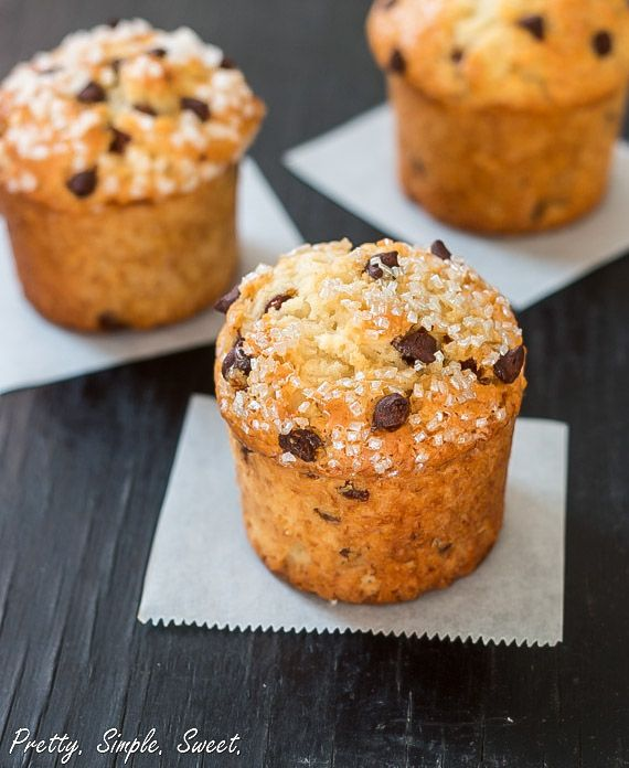 Bakery Style Chocolate Chip Muffins, this was a great post telling you ...