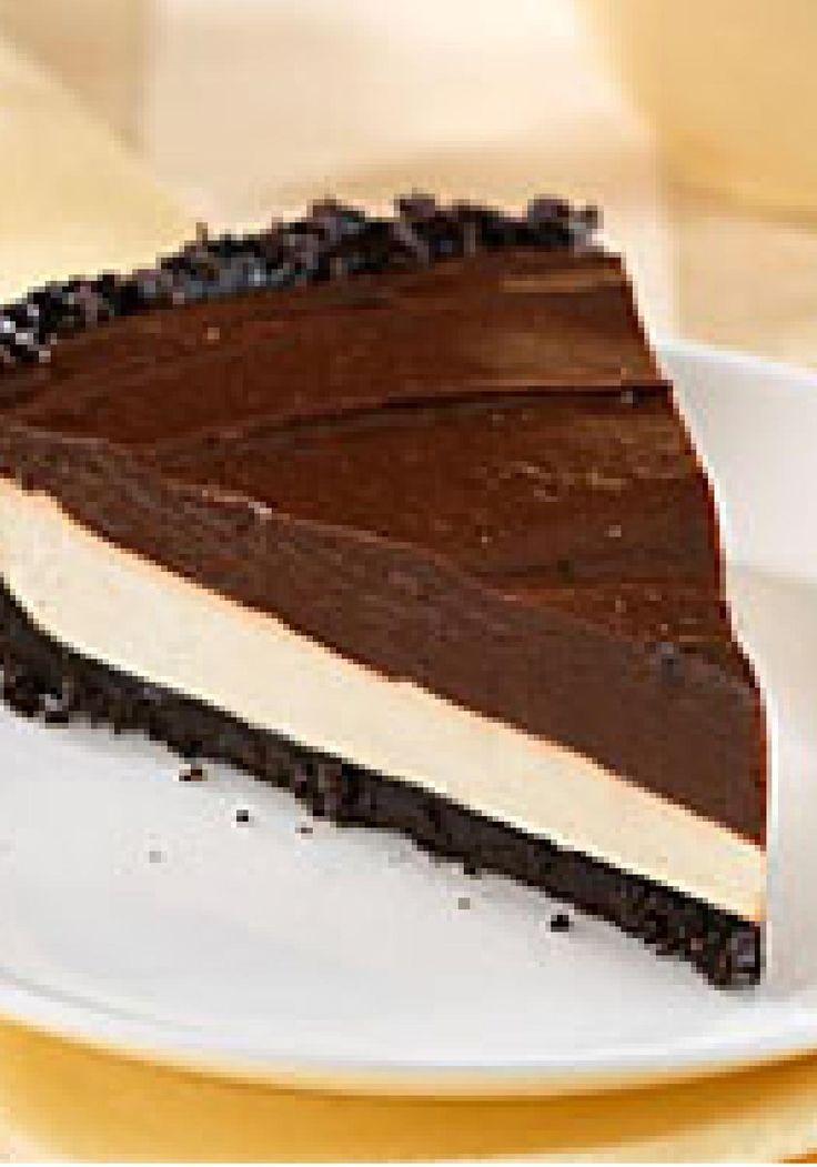 Chocolate-Caramel Crème Pie – A chocolate cookie crust makes a ...