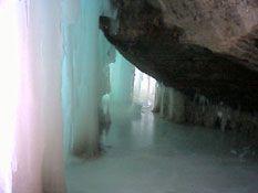 Grand Island Ice Caves, Lake Superior, Upper Peninsula of Michigan