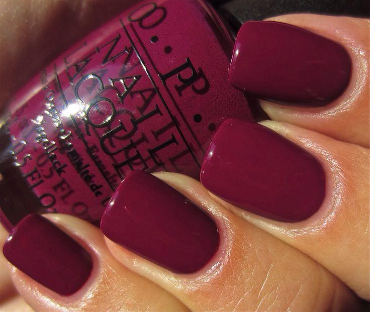 Fall nail color | Ethen & I | Pinterest