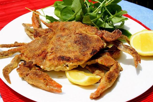 Cornmeal-Crusted Soft Shell Crabs | alexandra's kitchen