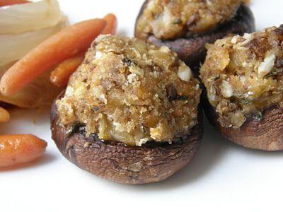 Simple stuffed mushrooms | Yummy recipes | Pinterest
