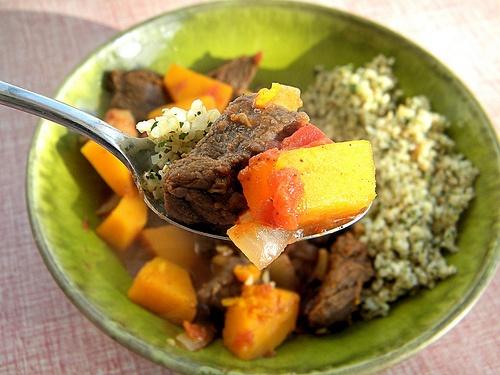 Moroccan Butternut Squash And Chickpea Tagine With Quinoa Recipe ...