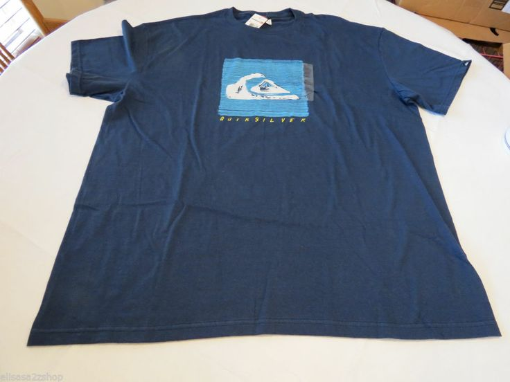 Men 39 s quiksilver t shirt xxl liner notes mto vr1 tee surf for Love notes brand shirt