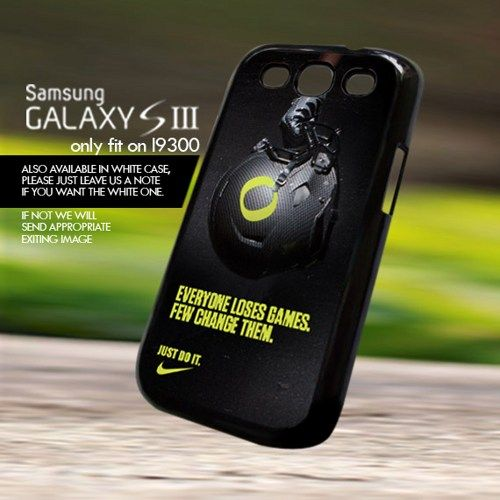 Nike Just Do It Football - For Samsung Galaxy S3 Case CoverNike Just Do It Football