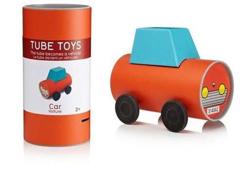 Now this is a super idea - the packaging becomes the toy! via @Babyccino Kids