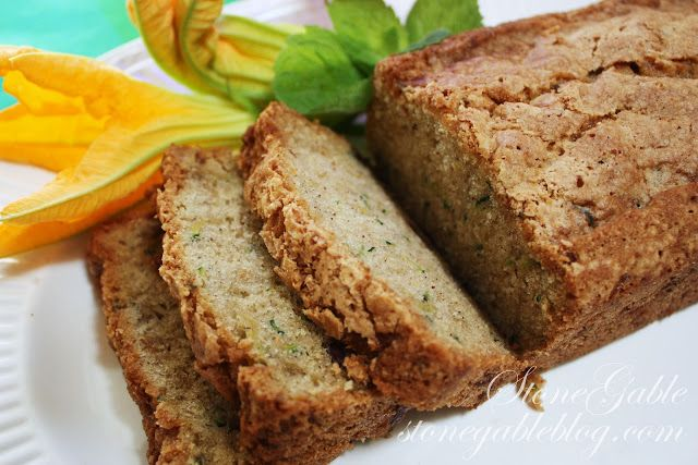 ZUCCHINI CHOCOLATE CHIP BREAD | Breakfast | Pinterest