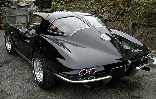 1964 corvette split window cars pinterest