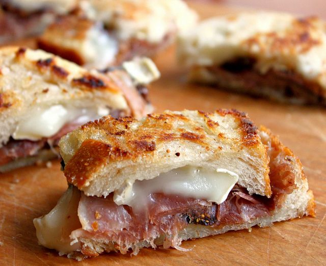 brie, prosciutto & fig sandwich | Favorite Recipes | Pinterest