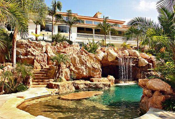 Tropical Oasis Backyards Pinterest