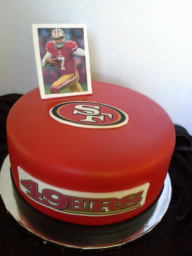 Birthday Cake Design San Francisco : * 49ers cake San Fran 49ers!!! Pinterest