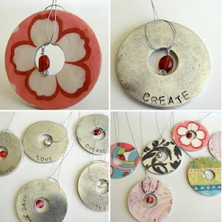 washer necklace ideas