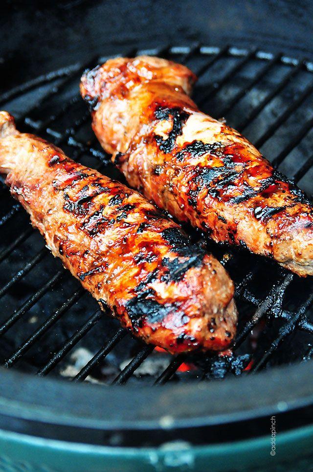 BBQ Pork Tenderloin made with a signature, zesty pork marinade. This ...