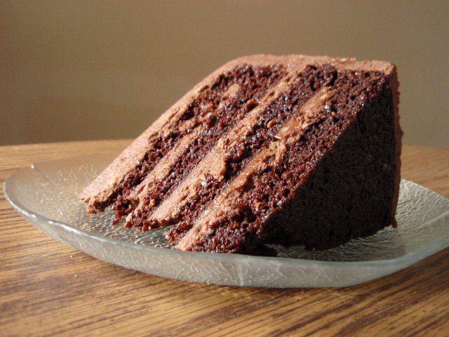 Bourbon- Pecan Fudge Cake | Desserts | Pinterest