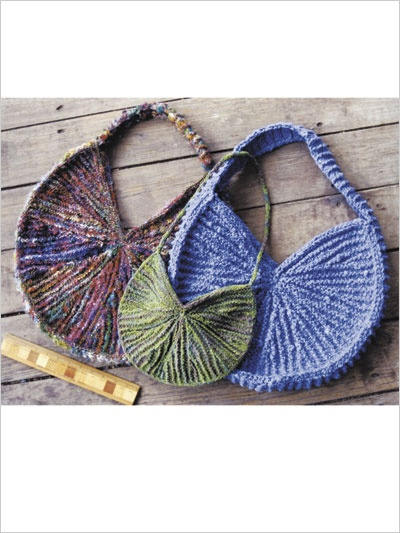 Knitted Sling Bag : Sunburst Sling Bags I so want the pattern for this bag...anyone know ...