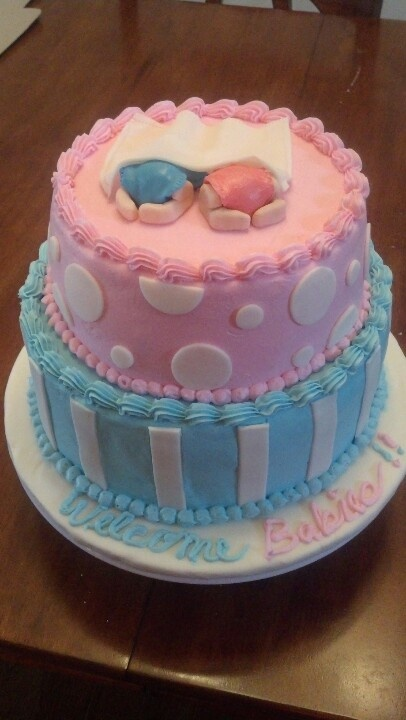 baby shower cake for twins cakes pinterest