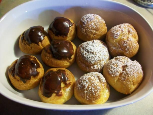 Choux Pastry- For Profiteroles, Cream Puffs Or Eclairs Recipe ...