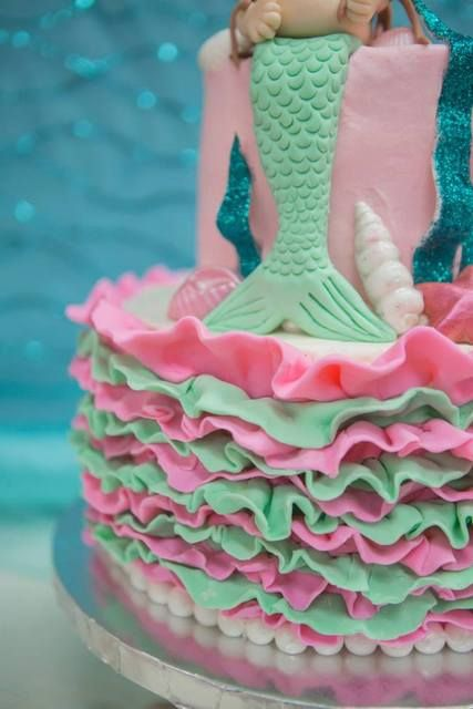 vintage mermaid baby shower party ideas photo 37 of 46 catch my