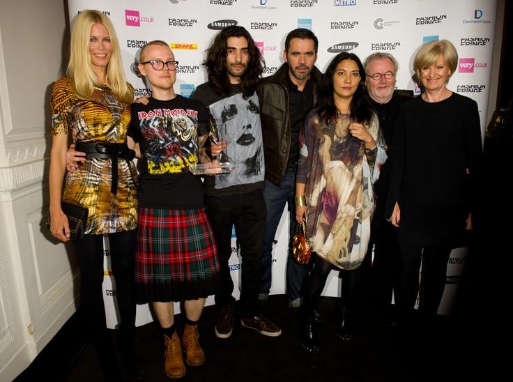 FYODOR GOLAN crowned Fashion Fringe winners 2011 (c) Ian Gavan/Getty Images for Fashion Fringe