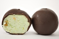 ... in NC) Not tooooo sweet but they are PERFECT! Pistachio bon bon