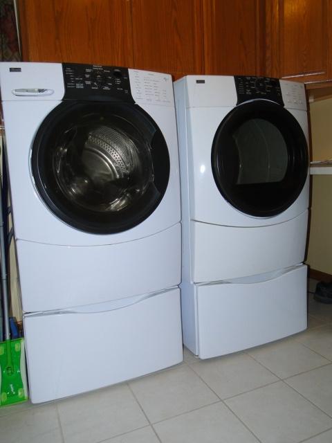 kenmore front loading washing machine manual