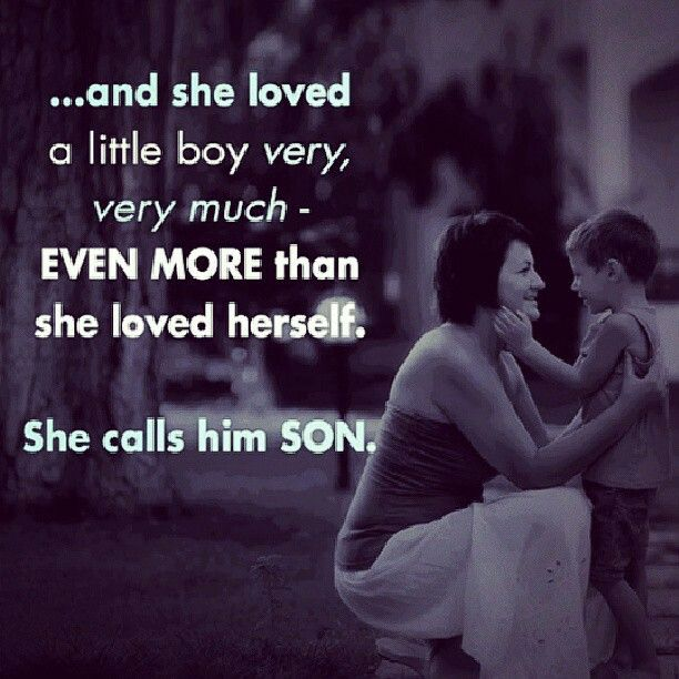Quotes About Mothers Love For Her Son : sons. Im blessed to have two of the greatest sons. Kyle & Craig