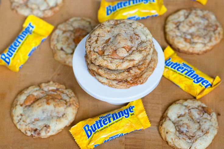 Butterfinger Cookies | Food and recipes | Pinterest