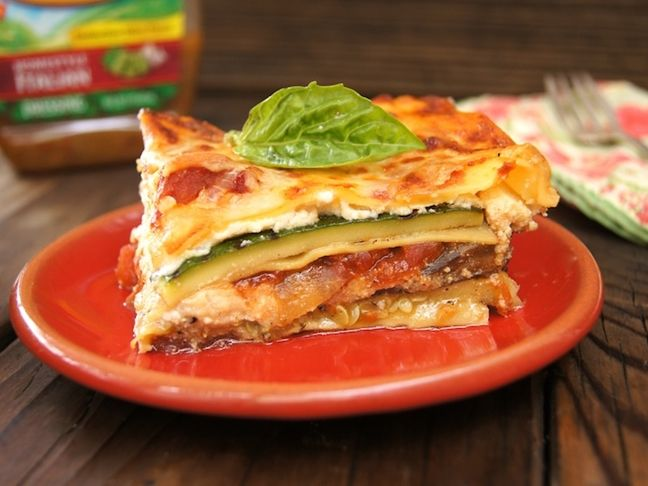 Homestyle Italian Grilled Vegetarian Lasagna Recipe